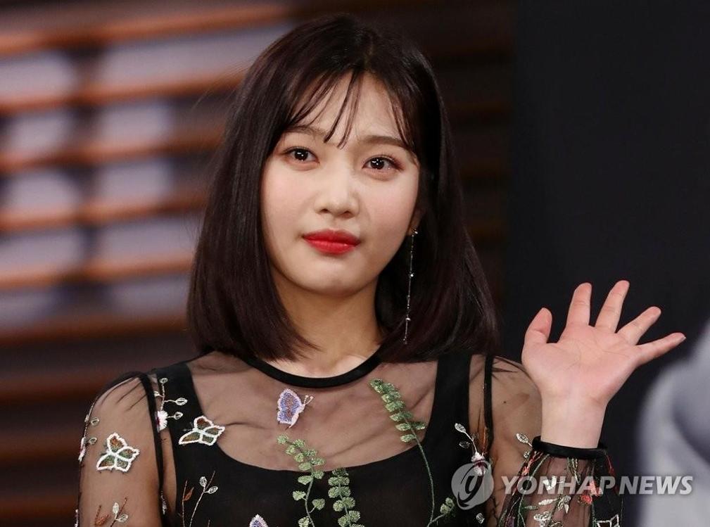 资料图片:Red Velvet成员Joy(韩联社)