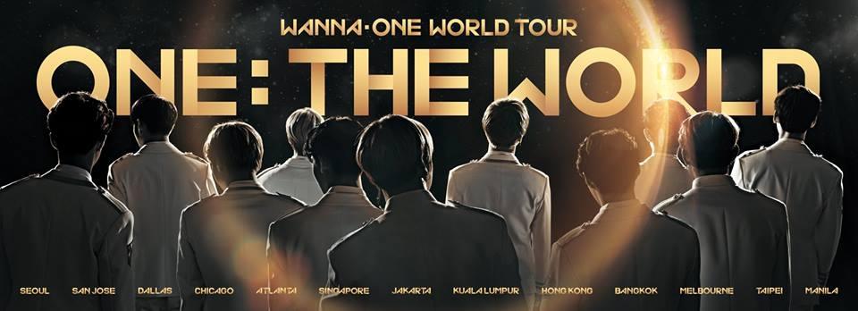 Wanna One全球巡演预告照(官方脸谱)