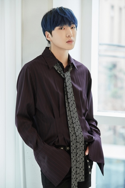 男团WINNER成员姜昇润(韩联社/YG提供)