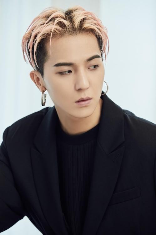 男团WINNER成员宋旻浩(韩联社/YG提供)