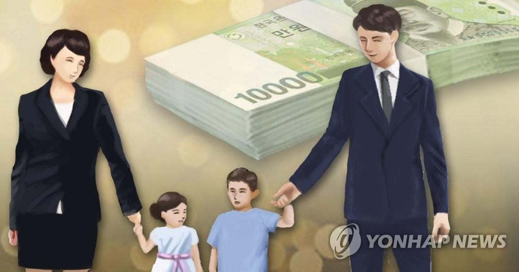 调查:韩国人认为单月育儿经济价值近1.4万 - 1