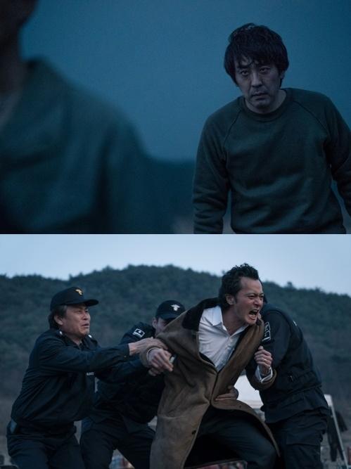 《七年之夜》剧照(韩联社/CJ娱乐提供)