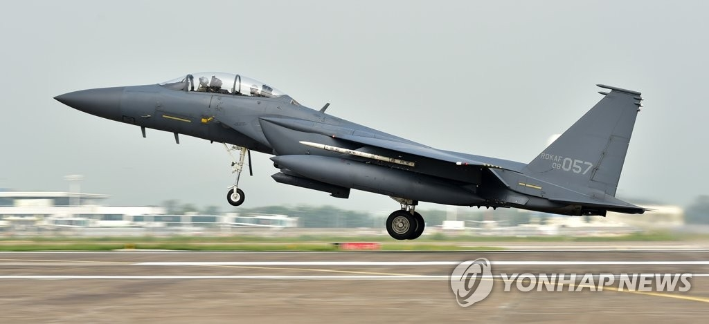 F-15K战斗机 (韩联社/空军提供)