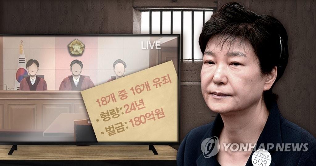 韩青瓦台评朴槿惠被判重刑:勿忘今天避免历史重演 - 1