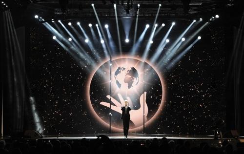资料图片:2015年世界魔术大会盛况(组委会提供)