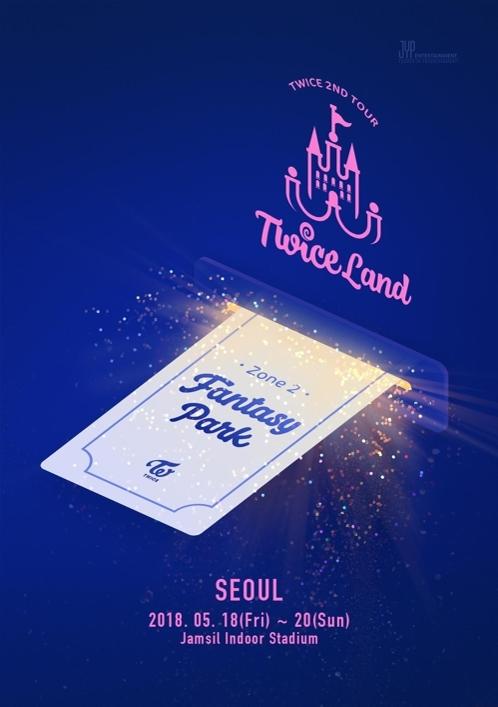 TWCIE演唱会首尔站海报(韩联社/JYP娱乐提供)