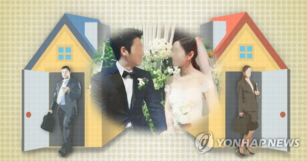 报告:韩国夫妻学历趋同 低娶大减下嫁暴增 - 1