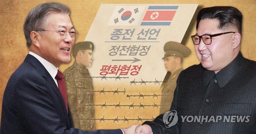 调查:八成韩国人赞成有关方签半岛和平协定 - 1