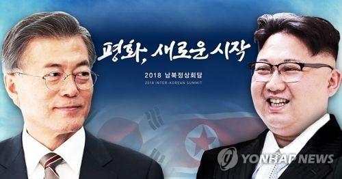 文金会谈举行在即。(韩联社)