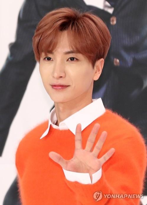 资料图片:男团Super Junior成员利特(韩联社)