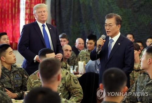 简讯:文在寅表示美军驻韩问题与停转和无关