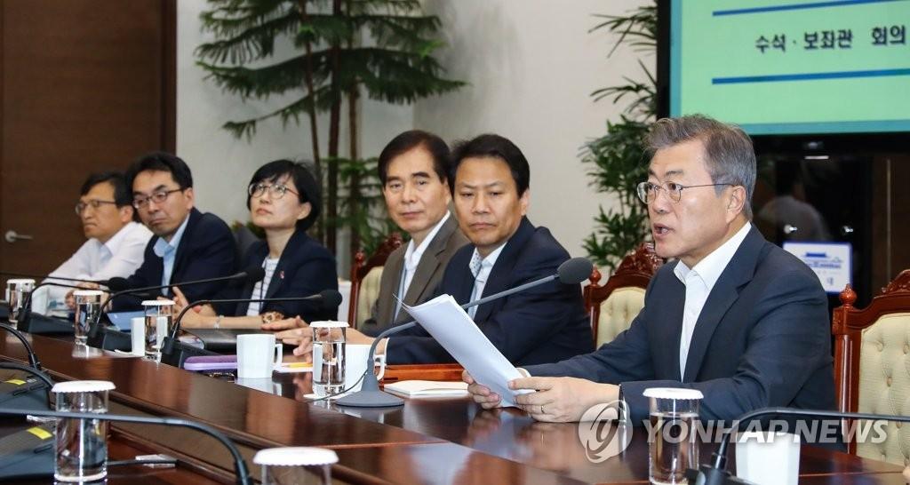 韩青瓦台对韩朝经济合作态度谨慎 强调无核化在先