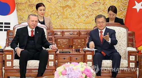 韩土首脑会谈共话双边合作与半岛和平之春
