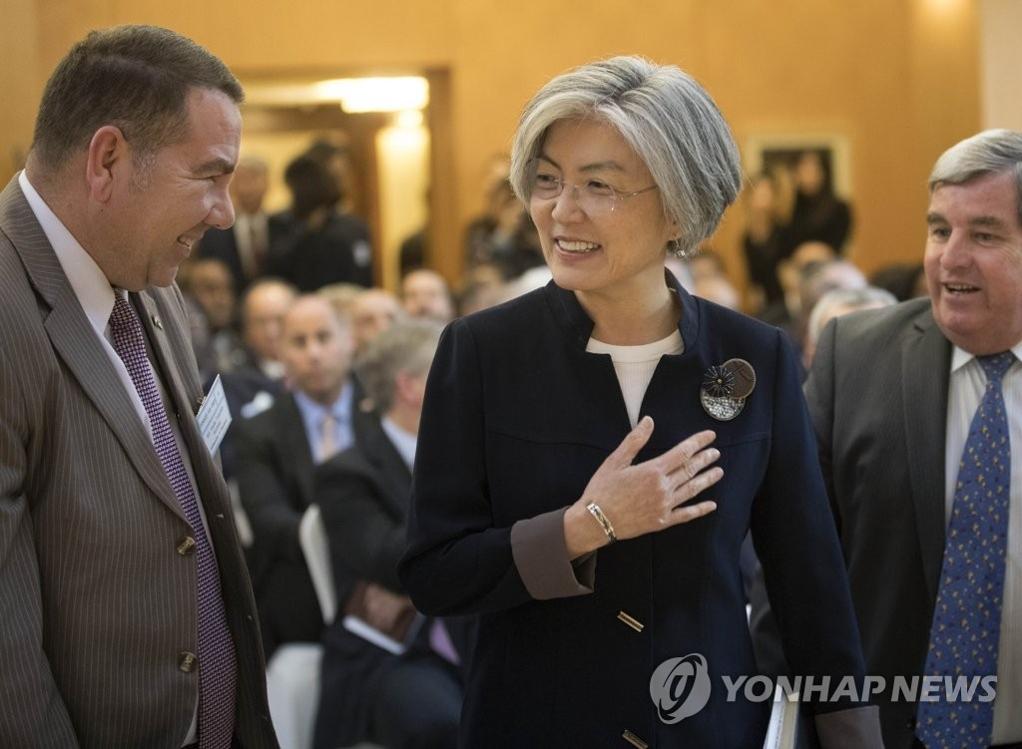 韩外长办驻韩外交使节团招待会介绍文金会成果