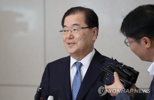 韩国国安首长结束访美行程回国