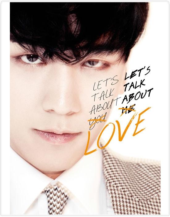 胜利个人首张日语专辑《LET'S TALK ABOUT LOVE》