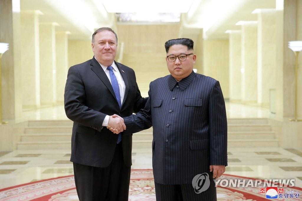 简讯:朝媒报道金正恩会见美国务卿蓬佩奥