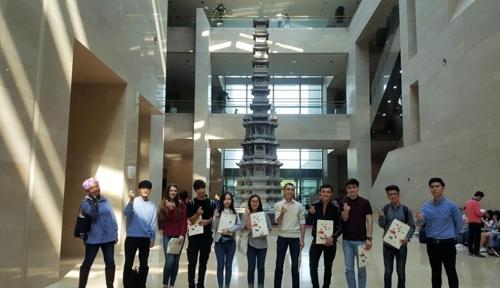 第21届外国人韩语演讲赛选手体验韩国历史文化