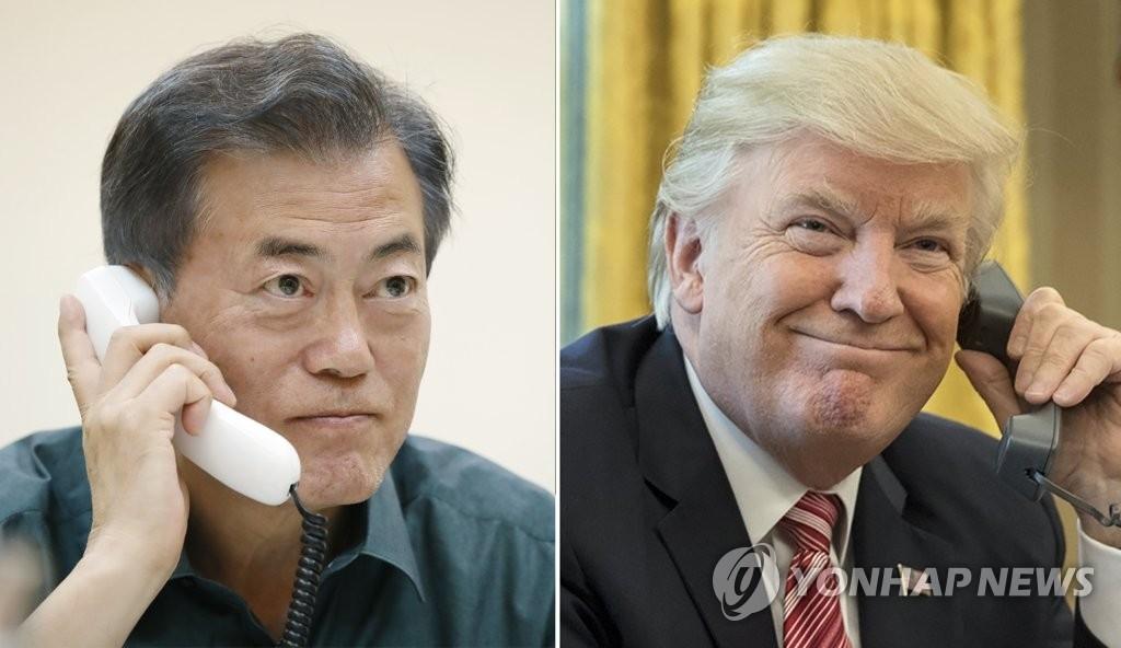 韩青瓦台:文在寅提韩朝美三方会谈必要性