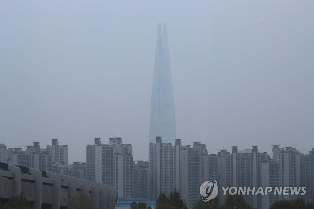 调查:雾霾最令韩国人不安 - 2