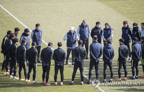 韩国国足发世界杯召集令 出国前淘汰5人