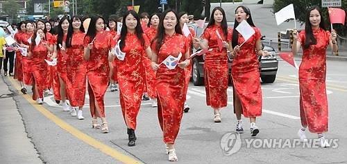 中国旗袍协会200余名会员将访问仁川