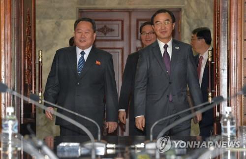 简讯:韩朝商定16日在板门店举行高级别会谈