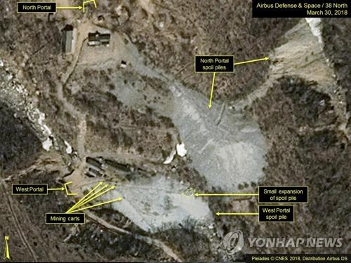 简讯:朝邀8名韩记者实地采访销毁核试验场