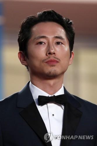 演员史蒂文·延(韩联社/欧新社)