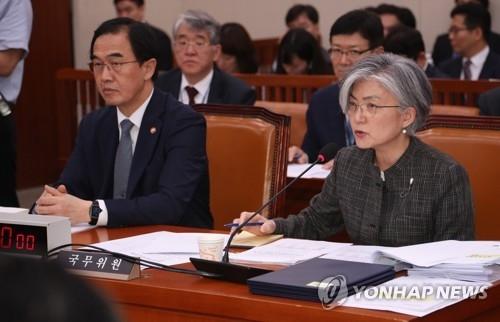 韩外长:信任金正恩相信弃核承诺