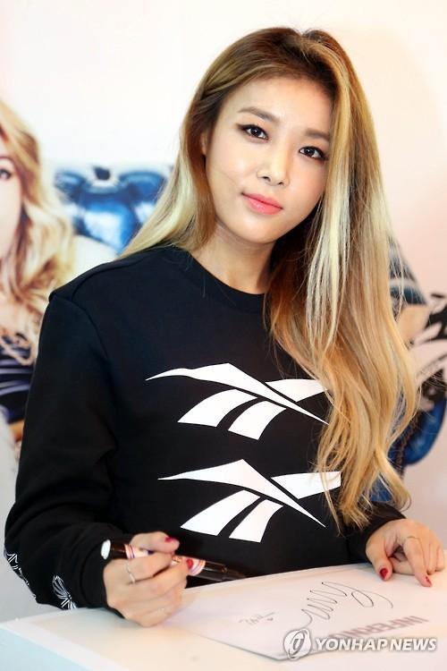 解体女团Wonder Girls成员宥斌将首推个辑