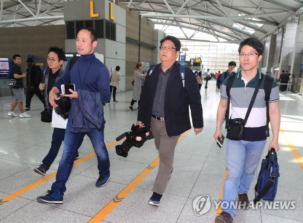 详讯:朝鲜接收采访核试验场废弃仪式韩记者名单