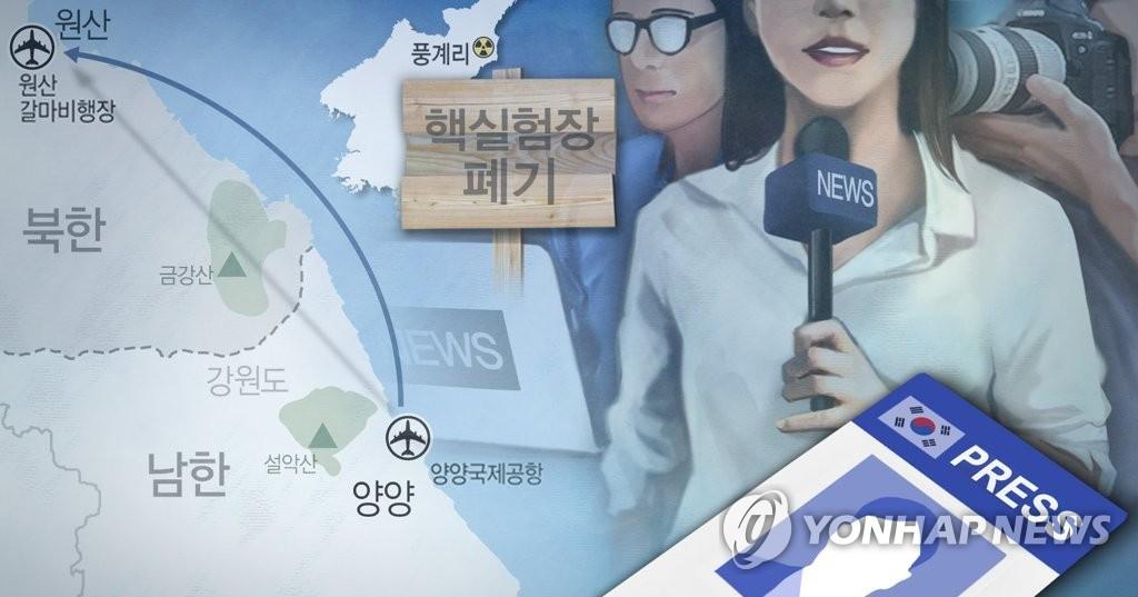 详讯:韩记者团今中午将乘机赴朝