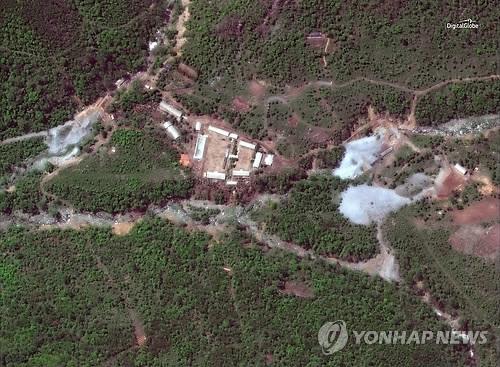详讯:朝鲜炸毁坑道拆除核试验场