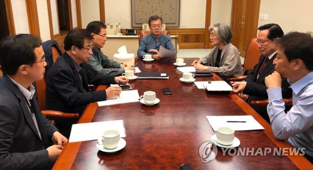 韩青瓦台:望朝美领导人直接沟通密切对话