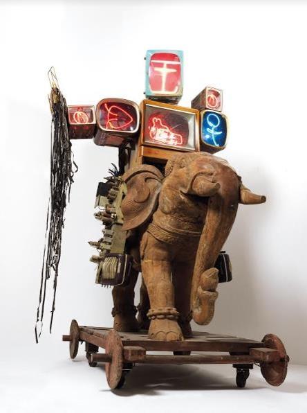 韩国影像艺术家白南准作品在港拍出454万港元高价