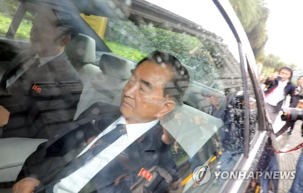 朝鲜国务委员会部长金昌善(韩联社)