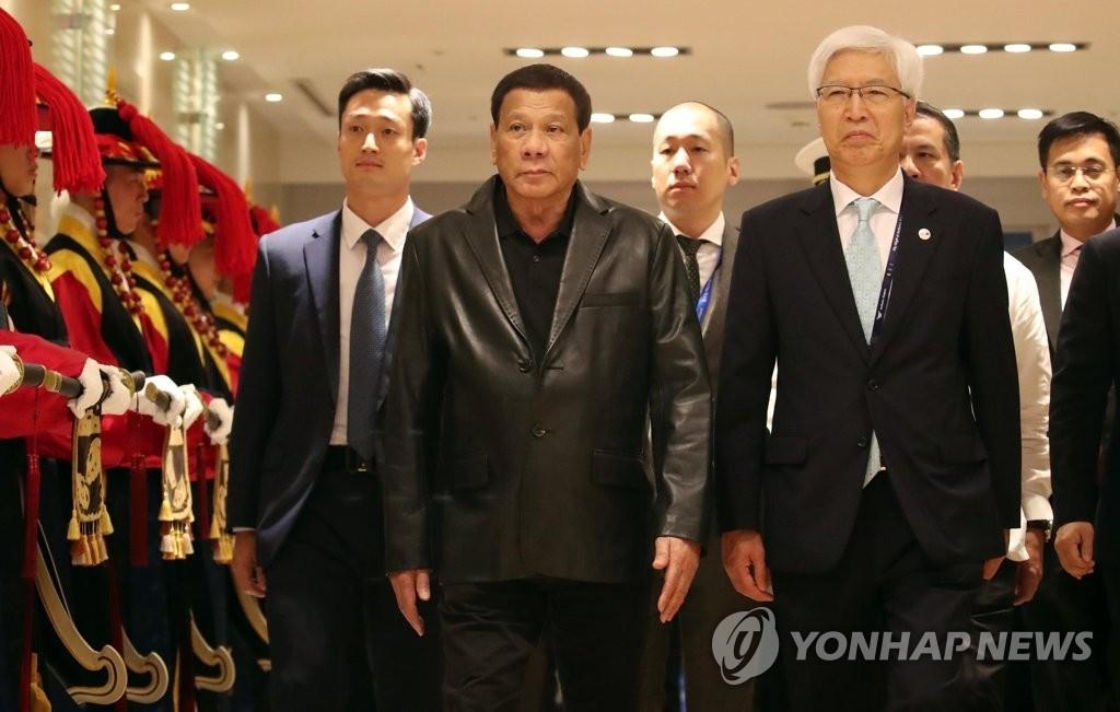 韩菲首脑会谈明在首尔举行