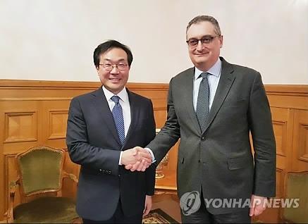 六方会谈韩俄团长明在俄会晤