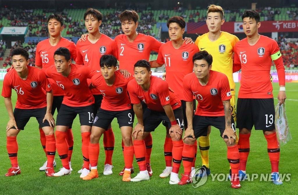 韩国国足最新FIFA升至第57