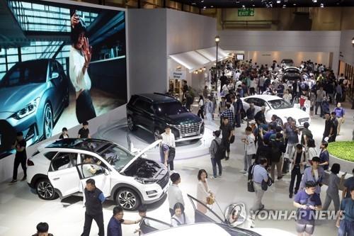 2018釜山国际车展开幕 全球19个品牌参展