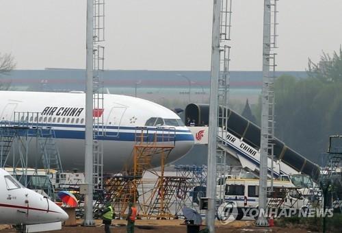 一中国领导人专机飞离平壤 金正恩是否搭乘受关注