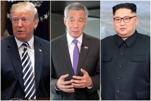 新加坡总理李显龙今明分晤金正恩和特朗普