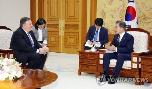 美国务卿请求韩总统主导朝鲜无核化进程