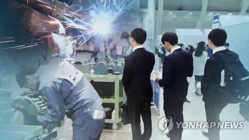 详讯:韩5月就业人口同比增7.2万人 失业率4%
