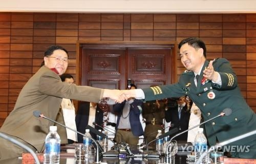 韩朝边境互撤重武器提上议程