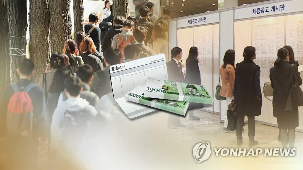调查:韩求职者平均期望月薪1.3万元