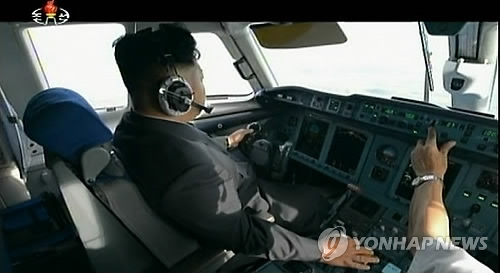 简讯:一架朝鲜专机从平壤飞往北京