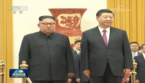 详讯:金正恩和习近平在京举行第三次会晤