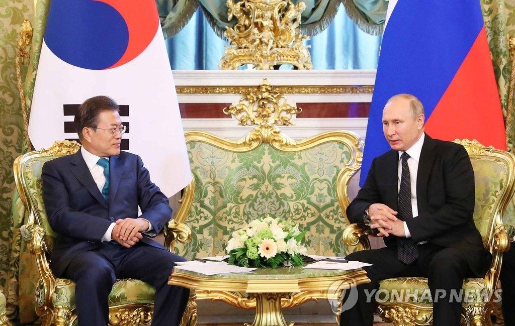 韩俄领导人会晤共话半岛问题合作
